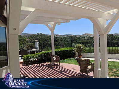 Wood Patio Covers & Pergolas Huntington Beach