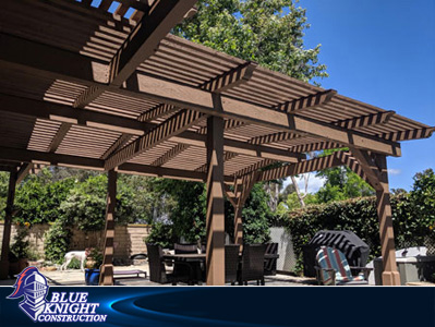 Wood Patio Covers & Pergolas Huntington Beach 121
