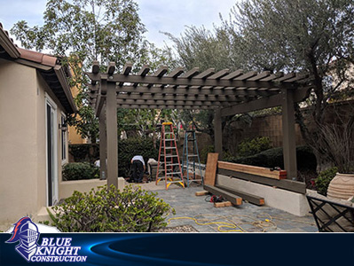 Wood Patio Covers & Pergolas Huntington Beach 127