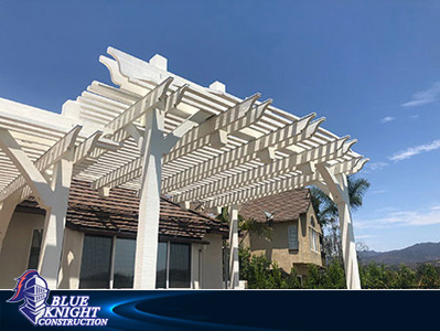 Wood Patio Covers & Pergolas Huntington Beach 13