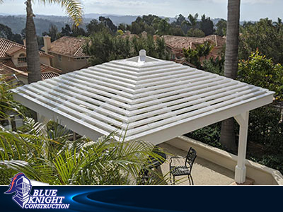 Wood Patio Covers & Pergolas Huntington Beach 133a