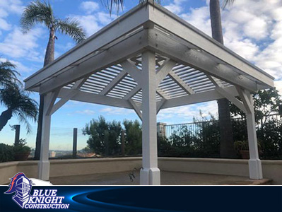 Wood Patio Covers & Pergolas Huntington Beach 136