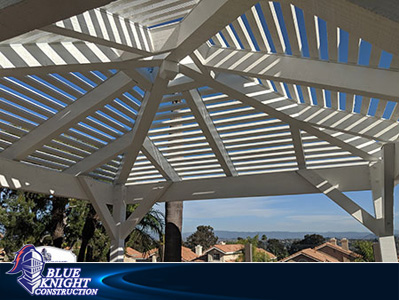 Wood Patio Covers & Pergolas Huntington Beach 137