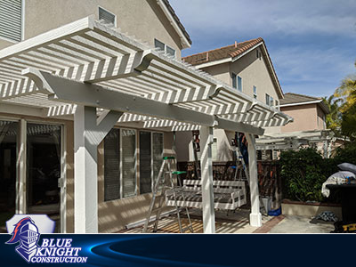 Wood Patio Covers & Pergolas Huntington Beach 146