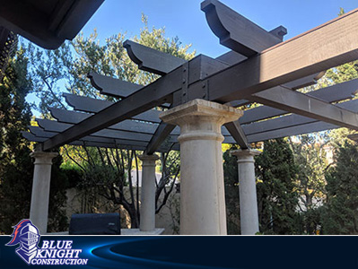 Wood Patio Covers & Pergolas Huntington Beach 65